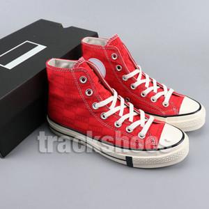 패션 디자이너 남자 Kith 운동화 블랙 70s 모든 스타 1970s 트레이너 Bsreathe 캔버스 스니커즈 무술 신발 크기 US5-10