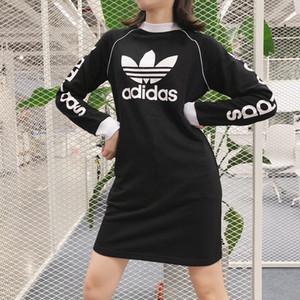 Спортивные платья Straight Женские и досуговые платья Дизайнерские махровые ткани Продажа женской модной возрастной юбки