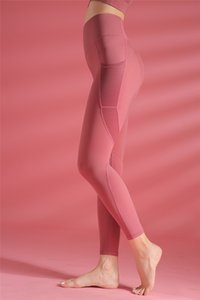 Wmuncc Gym-Leggings Pantalones Yoga-Sport-Medias Yoga Pant Conjunto transparente de alta cintura Pantalones Running-panza-Control QAMK0I