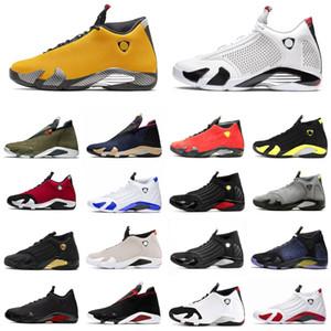 DOERNBECHER 14 14s Jumpman Men Basketball Shoes Black Gym Red Hyper Varsity Royal Purple Thunder Last Shot Mens Trainer Sports Sneakers