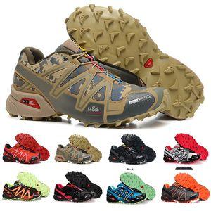 Marque Speedcross 3 CS Chaussures De Course Pour Hommes Respirant Léger Extérieur Vitesse Cross Cross III Sportif Sneakers Randonnée Chaussures Zapatos