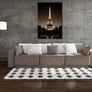 W131 Kulesi Çerçevesiz Ev Dekorasyon için Duvar Sanat Tuval Baskılar