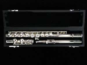MURAMATSU Flute in 1957 e-gorgeous Performance Musical Instrument Copper-nickel Silver Plated Flute With Case