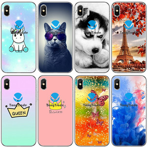 [TongTrade] morbido silicone TPU per Apple iPhone 11 Pro Max X Xs 8 7 6 5 4 Samsung S10 Cartoon Animal Huawei Mate 30 20 X Pro 5G Rs Caso