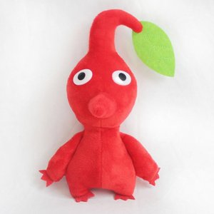 New Pikmin Game Plush Toys Dolls Red Blue Yellow Flowers Stuffed Peluche Doll