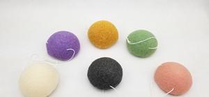 L'état sec de maquillage de maquillage de Jie Xi de nettoyage de visage de coton de Konjac peut être adapté aux besoins du client