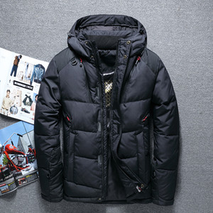 High Quality 70% White Duck Thick Down Jacket men coat Snow parkas male Warm Brand Clothing winter Down Jacket Outerwear Coat