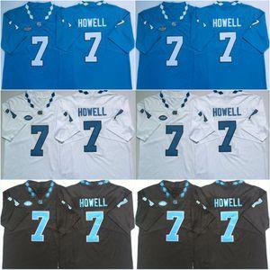 Custom #7 Sam Howell #2 Dyami Brown #25 Javonte Williams #4 Rontavius Groves #23 Josh Henderson Stitched UNC College Jerseys Free Shipping