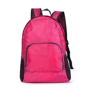 2019 Nuovo pieghevole portatile leggero zaino da viaggio in nylon design Camping Sport sacchetti per le donne impermeabili borse di alta qualità