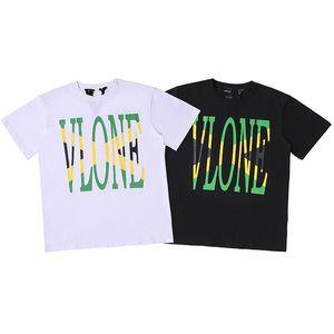 Vlone Herren Stylist T-Shirt Männer-Frauen-Qualitäts-Basketball-T-Shirt Herren T-Stücke 2 Farben