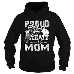 Proud Army National Guard (Herren Pullover Sweatshirts Herrenbekleidung Mom UnisexHoodie Proud Army National Guard (Herren Pullover Sweatshir