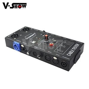Vshow 2018 Offerta speciale tester cavo attrezzature Pro Audio Network lan del tester del cavo RJ45 della fase del LED