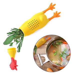 Kommen neue Silikon-Schrei-Huhn Gewürz Pot Würze Container Spice Box Für Dünsten Suppenküche Zubehör Großhandel Andere Küche