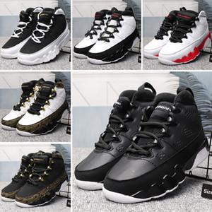 Nike Air Jordan 9 2019 novo 9 retro Sonho It Do It IX juventude grande menino / meninas Sneakers senhoras / crianças 9s Nostalgia Multicolor grande baksetball sapatos