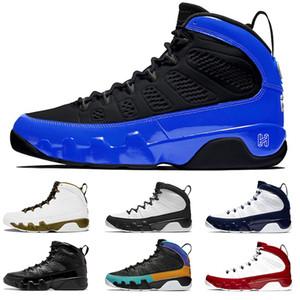 أحدث 9 9S كرة السلة للرجال أحذية ولدت UNC المتسابق الأزرق رياضة الأحمر رجل الرياضة الاحذية حذاء رياضة حجم 40-47