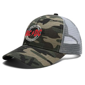 Fashion AC DC Australian rock band Unisex Baseball Cap Custom Stylish Trucke Hats ac dc highway to hell music Let There Be Rock moive in