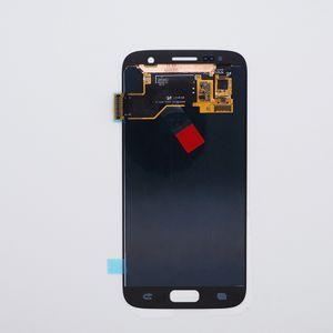 Samsung Galaxy S7 Lcd Sayısallaştırıcı Displaiy Orjinal Dokunmatik Ekran Tam Montaj DHL Kargo için LCD Mükemmel Kalite