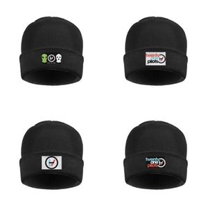 Fashion Twenty-novelty-One-awesome-Pilots rock Cuff Toboggan Watch Beanie Hat crochet Hats Twenty-melody-One-LP-Pilots blurryface Pop