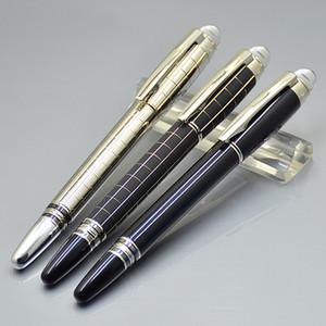Promotion - Luxury Series Sw Черная смола и металл Роллер ручка шариковая ручка авторучка офис школьных принадлежностей с серийным номером