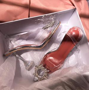 Yeni Varış Yaz Rhinestone Gümüş Düz Sandal Pompa Sandal Moda Bayan Sandalet Ayakkabı Seksi Gümüş Yüksek Topuk Sandal Ücrets ...