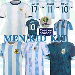 Copa America 2020 ARGEN 1986 Argentinien retro Fußball-Trikot Maradona 1978 Retro Argentinien-Fußball-Hemden Maillot Camisetas de Futbol