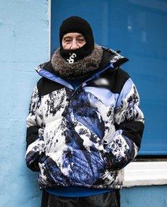 North Face Mens abajo chaqueta de invierno cálido al aire libre a prueba de viento chaqueta con capucha de la montaña Baltoro Diseñador capa de los hombres de la nieve Pareja chaqueta suelta