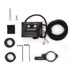 elenxs Motorbike Phone Holder Adjustable Cellphone Bracket Support Cradle Motorcycle Handlebar Mounted USB Charger
