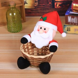 Christmas Decoration Candy Basket Christmas Desktop Decoration Children Candy Basket Christmas Decoration Candy Box