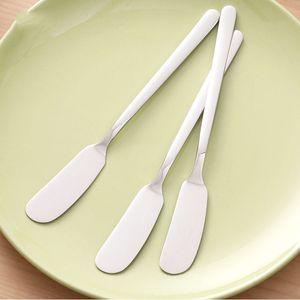 Herramientas Ecológico 3PCS de cocina Cubiertos de queso mantequilla Knievs espátula de acero inoxidable cortador Postre Jam esparcidor cubiertos desayuno Herramientas