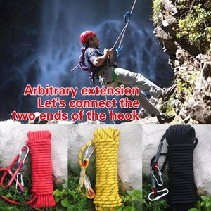 (A370X) High Strength Outdoor Rock Climbing Rope For Fire Rescue,Training 10 12 14 18 20 mm Arbitrary Extension