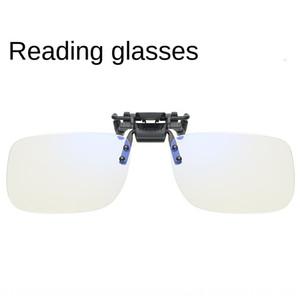 جيتر التنين الذهب موضة جديدة النظارات طويل النظر كليب للجنسين بدون إطار نظارات كليب قصو البصر الشيخوخي