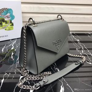 Lusso Genuine Leather Handbags Borse Donna Designers spalla femminile 20MM 2020 New Fashion Bag Borsa donna borsa Borsa Mujer Bonsi