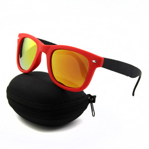 Качество Классика с Sun High Fashion Солнцезащитные очки Винтажные Складные Складные Женские Солнцезащитные Очки Солнцезащитные Очки Очки Мужские Очки Beach Boxs Aamh