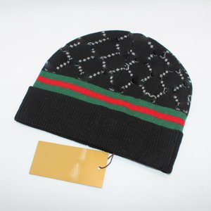 Fashion Winter Keep Warm Knitted Hat Luxury G Letter Stripe Unisex Wool Caps Girls Casual Vacation Hedging Hats