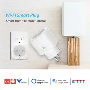 Wi-Fi 스마트 플러그, 미니 Wifi 아울렛, Alexa, Google 홈 IFTTT, 허브가 필요 없음, 어디서나 가전 제품을 원격 제어 가능