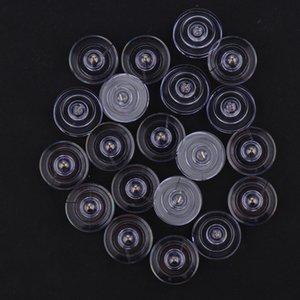 100Pcs DIY Plastik Bobin İçin Singer 21x8mm Yurtiçi Dikiş Makinesi