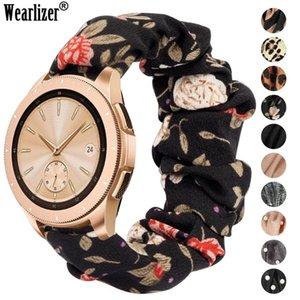 Wearlizer 20 mm Femmes élastique bande Watch pour Samsung Galaxy Montre 42mm / Active 2 40 44mm pour Huawei GT2 42mm Bracelet