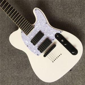 Бесплатная доставка фабрика оптом белый корпус электрическая гитара с TL пикап, белый пикер, желтый клен, изготовленный на заказ