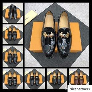 A1 52 Modell Lbrands Leder-beiläufige Driving Oxfords Wohnungen Schuhe Herren Loafers Mokassins italienische Schuhe für Herren