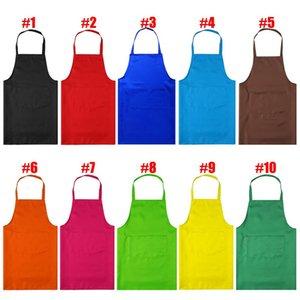WITUSE Kadınlar Önlük ile Shop Sanat İş Önlük Kore Garson Aprons` Pişirme Mutfak Restaurant Cepler