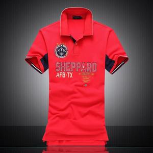 L'alta qualità cotone a basso design nero maglietta 100% di polo per gli uomini con ricamo