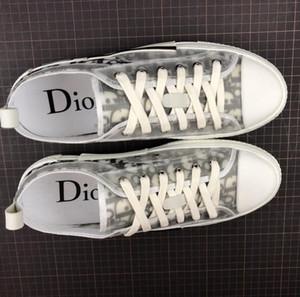 Luxury Designers brand DIOR Oblique Homme Chaussures Triple S Dior Converse Kaws b23 Par KIM Jones Femmes Stylisme Baskets planche a roulettes montantes size36-45