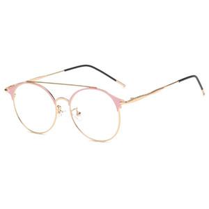 Top hombres y mujeres diseñador de la marca gafas ópticas moda anti-azul gafas protectoras de la computadora gafas móviles gafas de estudiante gafas del campus