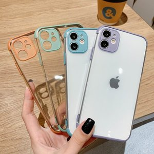 Stylish solid color TPU leather mobile phone case For iphone 11 pro max Xs Max XR 7 8 plus case For apple Leather phone case