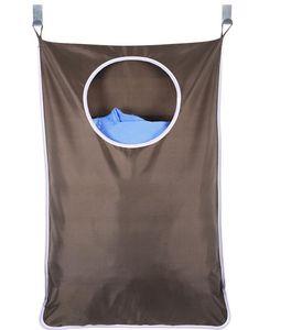 Çamaşır engel olan Asma Ev Kapı Ekstra Büyük Duvar Paslanmaz Çelik ve Emme Kupası Hook ile Çamaşırhane Organizatör Bag Monteli 30 * 20inch 882