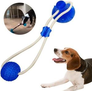 Pet Molar Oyuncak İnteraktif Eğlence Pet Kaçak Gıda Oyuncaklar Emiş Kupası Güvenlik Kauçuk Isırma Oyuncak Fonksiyonlu Dog Bite Topu YP140 Chew