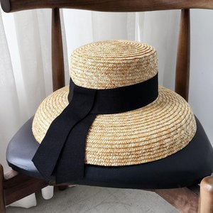 Elegant Lady Vacation Sun Hats Fashion Girls Wide Brim Hats Vintage Style Women Beach Hat Free Size