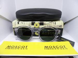 Occhiali da sole polarizzati trasparenti di moscot Marca Retro-vintage quality Pure-Plank occhiali da sole full-rim personalizzati occhiali originali imballaggio L M Taglia S