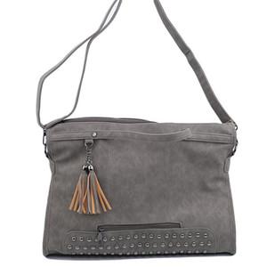 La bolsa de diseñador-Mujer tachonado de gran capacidad de la PU del hombro del totalizador del cuero bolsos de las señoras para el recorrido de las mujeres Bolso de la vendimia Tendencias bolso de la mujer