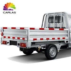 Carla gratuito Freight Branco Red temporários Traffic Signs Custom impresso Reflective Tape Para Safety Car frete grátis